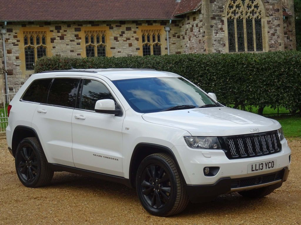 Jeep Grand Cherokee SUV 3.0 V6 CRD Limited Auto 4WD 5dr