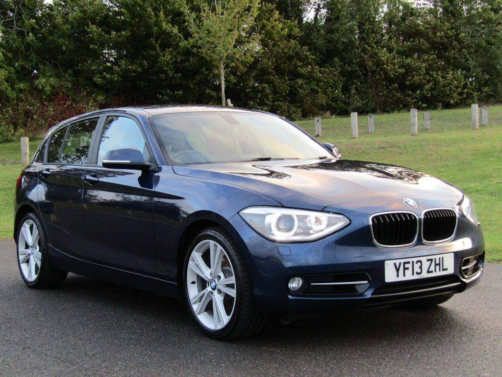BMW 1 SERIES Hatchback 2.0 120d Sport Sports Hatch xDrive 5dr