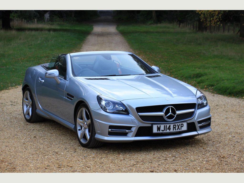 Mercedes-Benz SLK Convertible 1.8 SLK200 BlueEFFICIENCY AMG Sport 7G-Tronic Plus (s/s) 2dr
