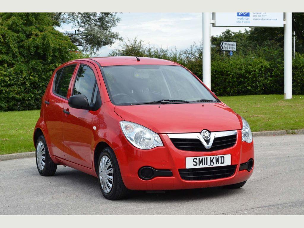 Vauxhall Agila Hatchback 1.0 i ecoFLEX 12v Expression 5dr