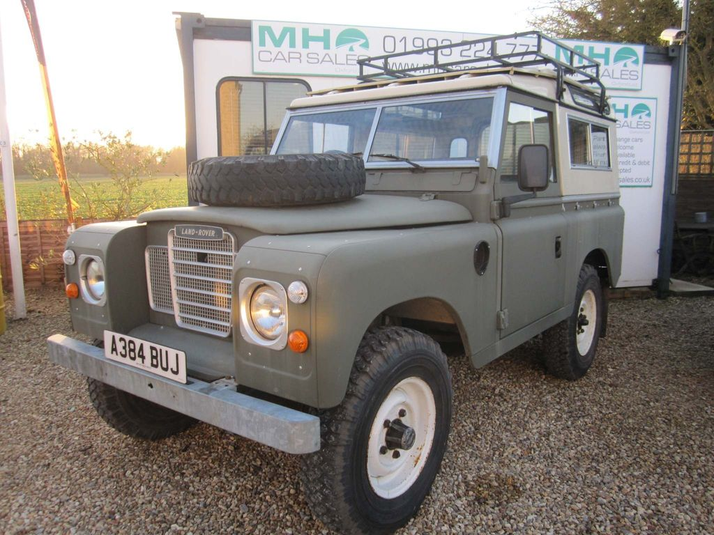 Land Rover Series III SUV 2.3 88 Hard Top