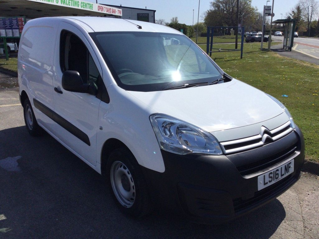Citroen Berlingo Panel Van 1.6 HDi 625 X L1 4dr