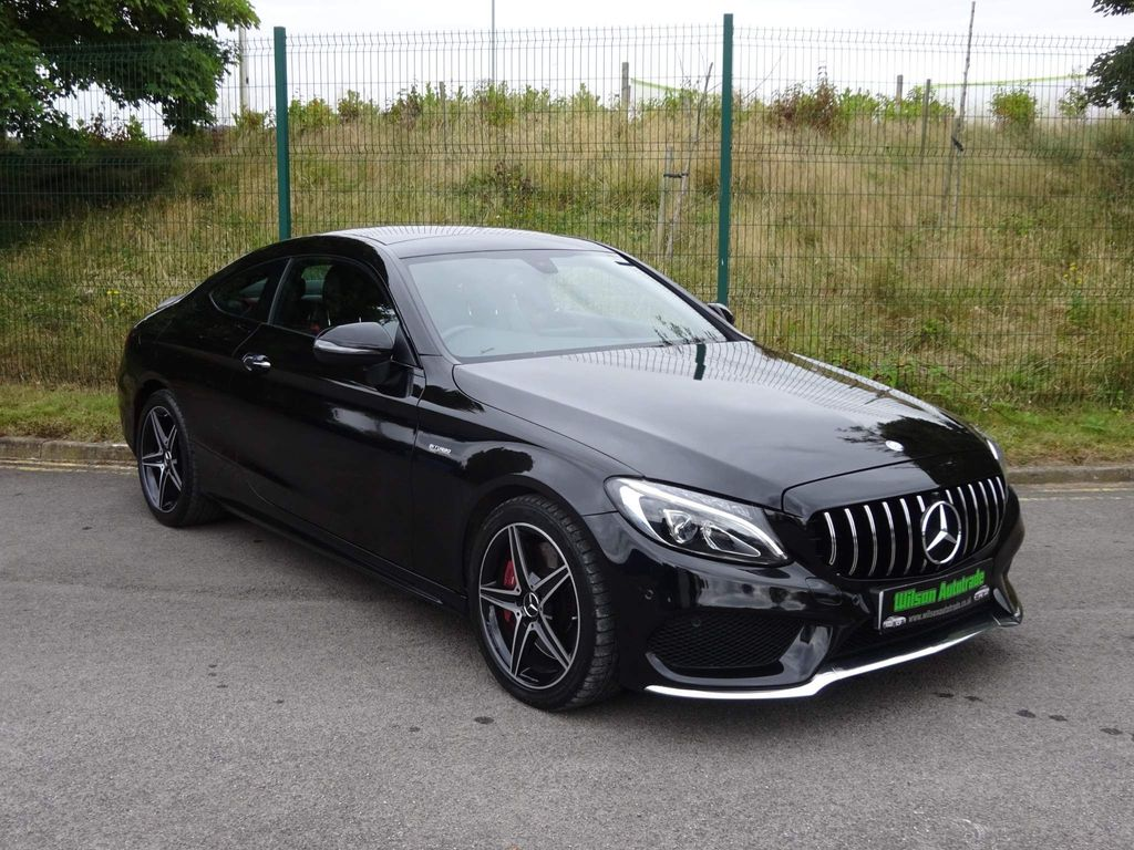 Mercedes-Benz C Class Coupe 3.0 C43 V6 AMG (Premium) G-Tronic+ 4MATIC (s/s) 2dr