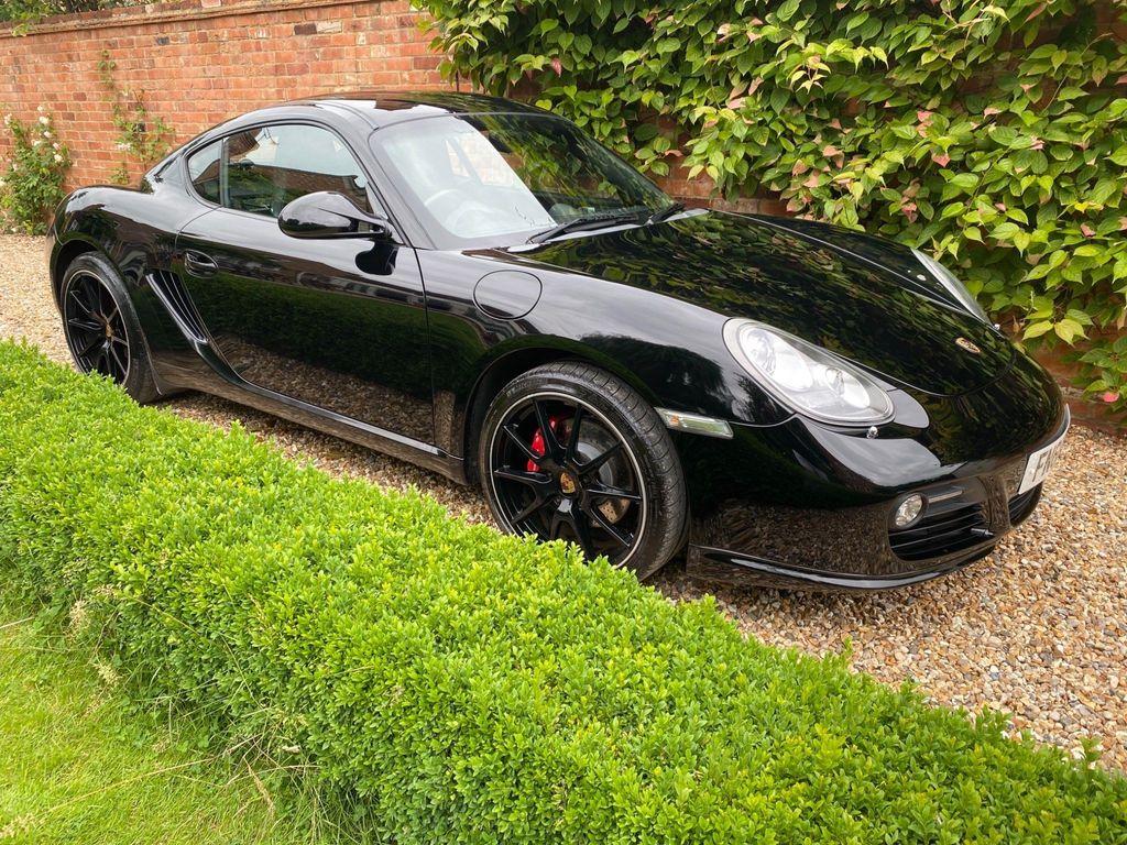 Porsche Cayman Coupe 3.4 987 S Black Edition PDK 2dr