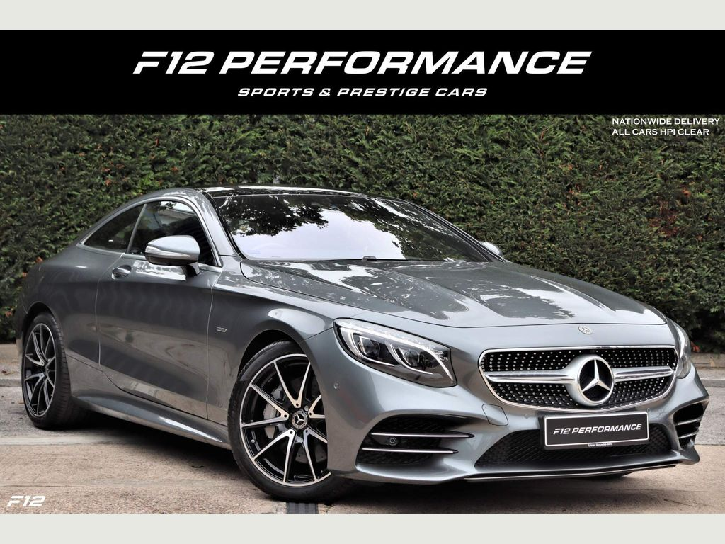 Mercedes-Benz S Class Coupe 4.0 S560 V8 BiTurbo Grand Edition G-Tronic (s/s) 2dr
