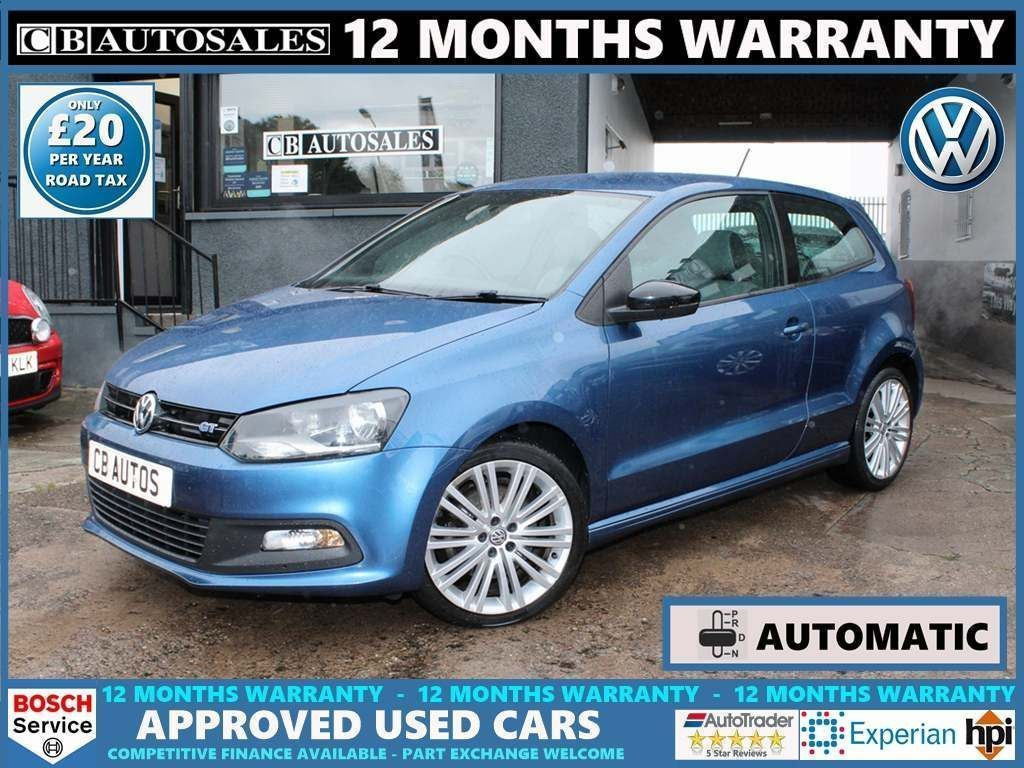 Volkswagen Polo Hatchback 1.4 TSI BlueMotion Tech ACT BlueGT DSG (s/s) 3dr