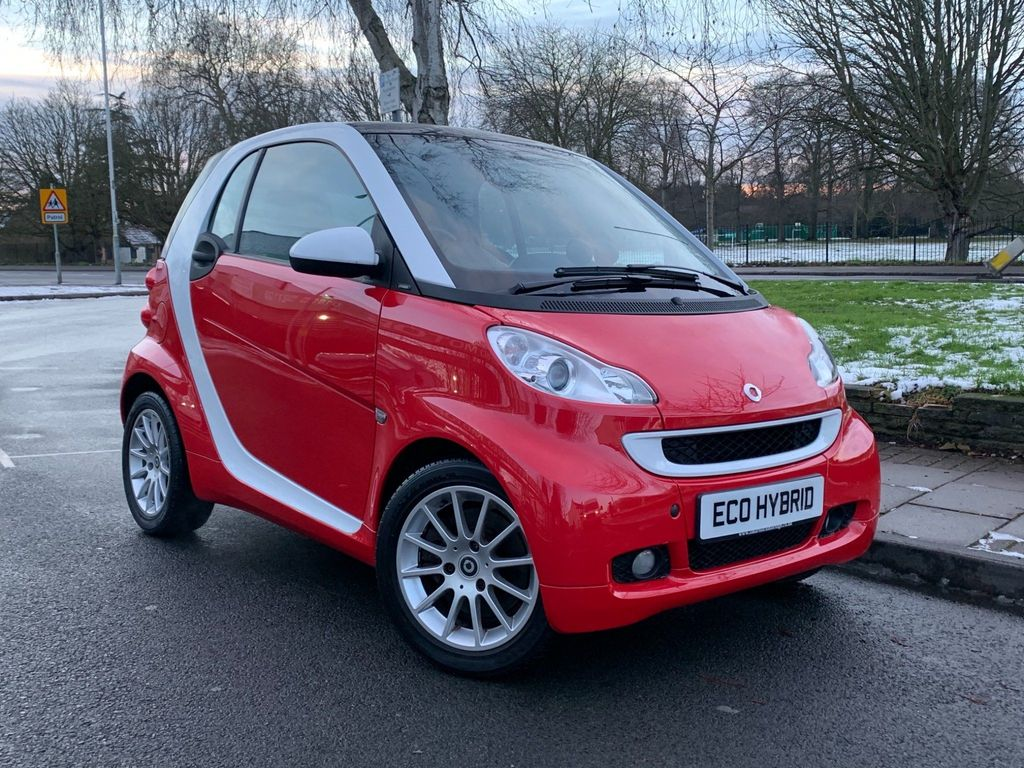 Smart fortwo Coupe 1.0 Turbo Passion Softouch 2dr