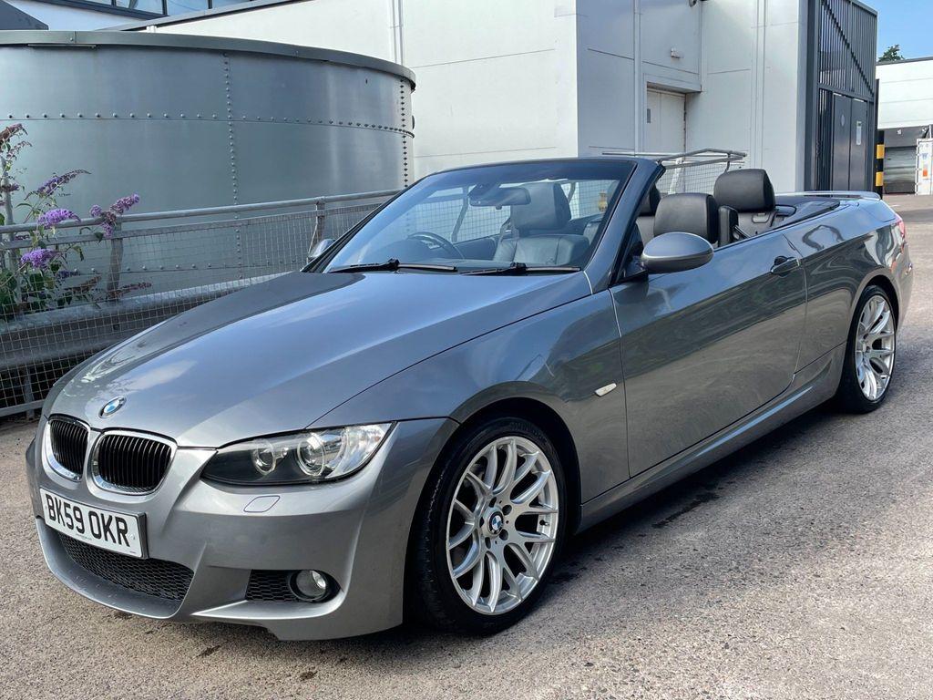 BMW 3 Series Convertible 2.0 320d M Sport Highline 2dr