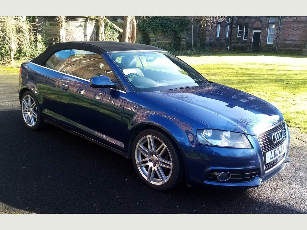Audi A3 Cabriolet Convertible 2.0 TDI S line 2dr