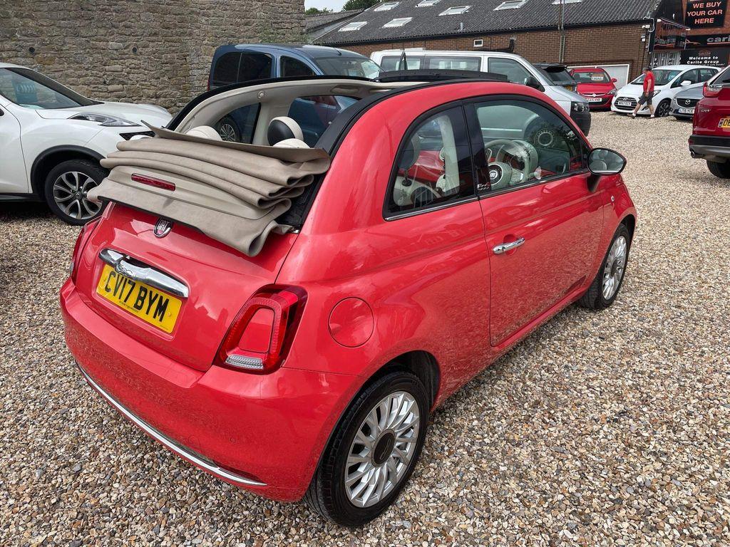 Fiat 500C Convertible 1.3 MultiJet Lounge (s/s) 2dr