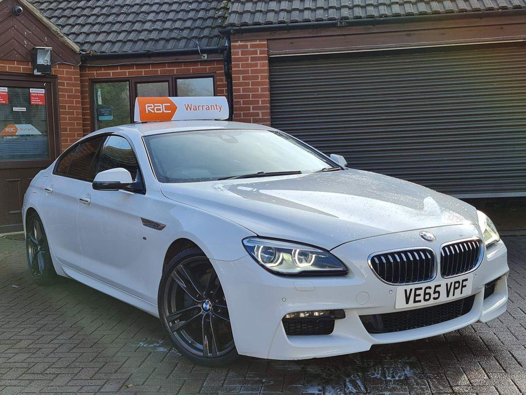 BMW 6 Series Gran Coupe Saloon 3.0 640d M Sport Gran Coupe Auto (s/s) 4dr