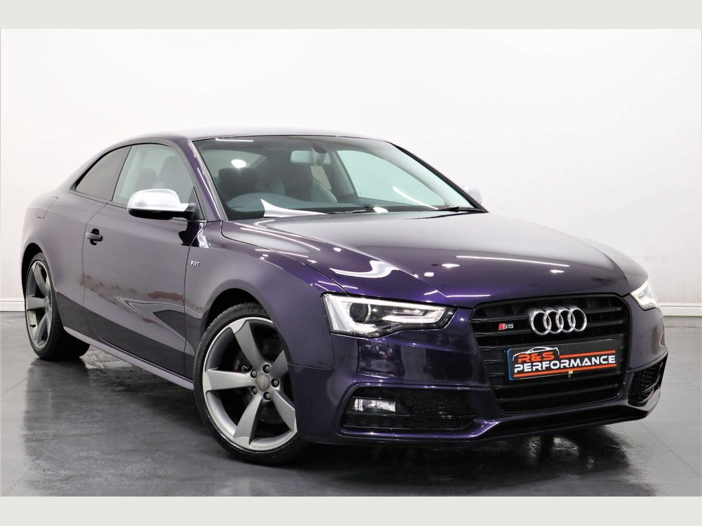 Audi S5 Coupe 3.0 TFSI Black Edition S Tronic quattro 3dr