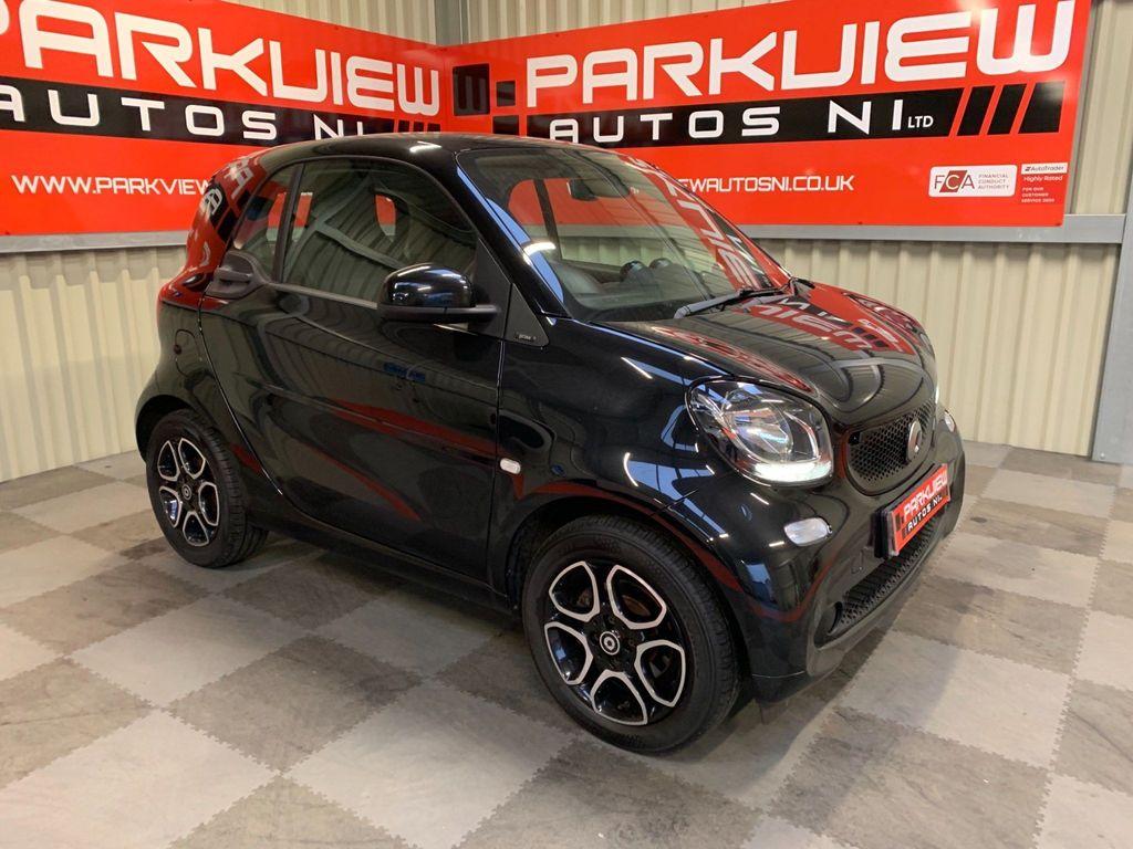 Smart fortwo Coupe 1.0 Prime (Premium) (s/s) 2dr