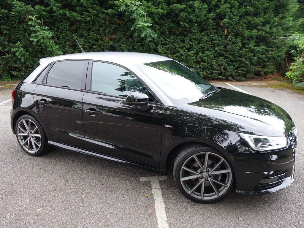 Audi A1 Hatchback 1.4 TFSI Black Edition Sportback S Tronic (s/s) 5dr (Nav)