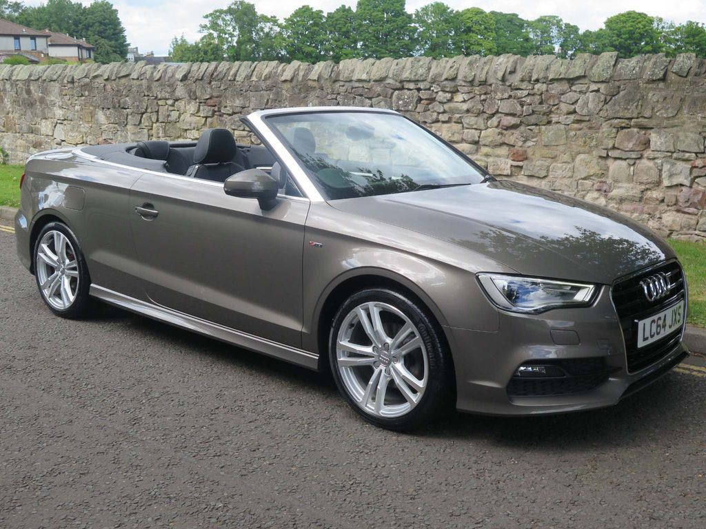 Audi A3 Cabriolet Convertible 1.4 TFSI CoD S line Cabriolet S Tronic 2dr