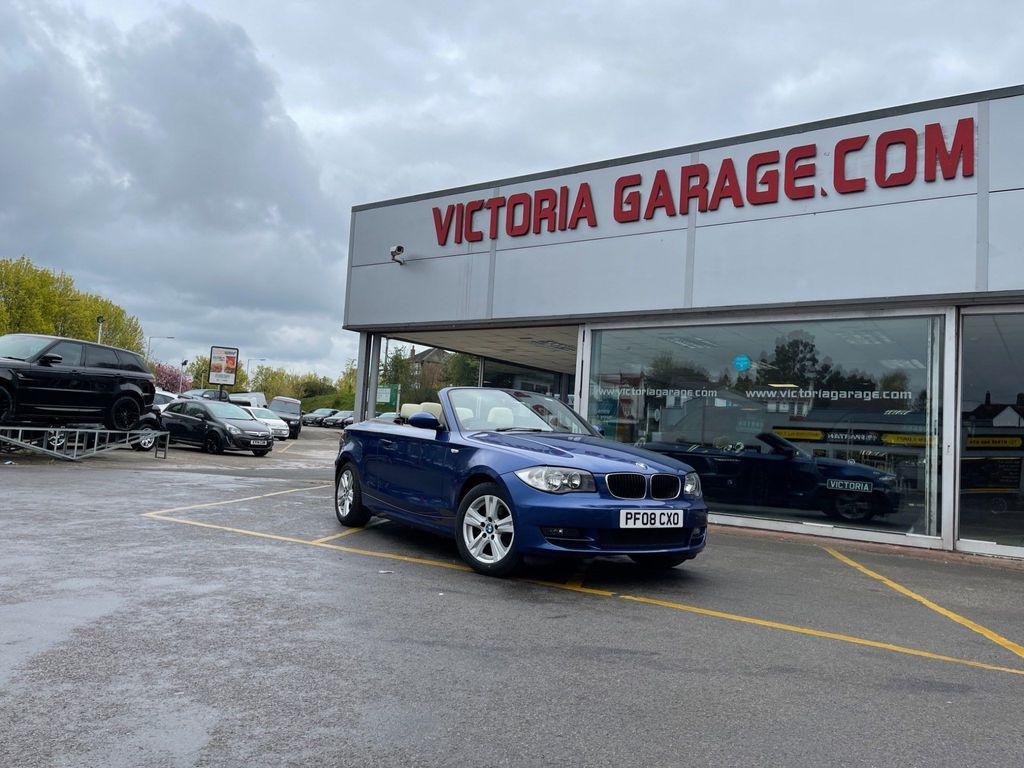 BMW 1 Series Convertible 2.0 118i SE Auto 2dr
