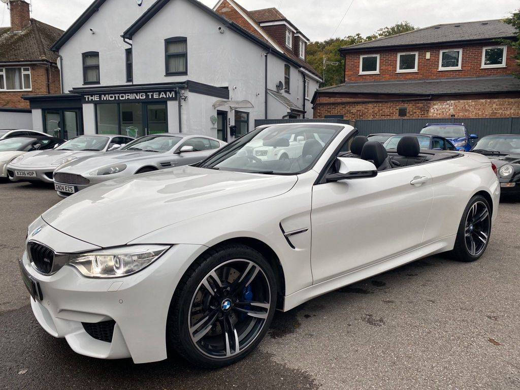 BMW M4 Convertible 3.0 (s/s) 2dr