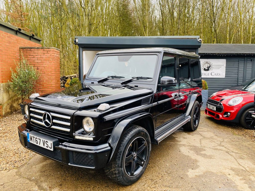 Mercedes-Benz G Class SUV 3.0 G350 CDi Night Edition G-Tronic 4WD (s/s) 5dr