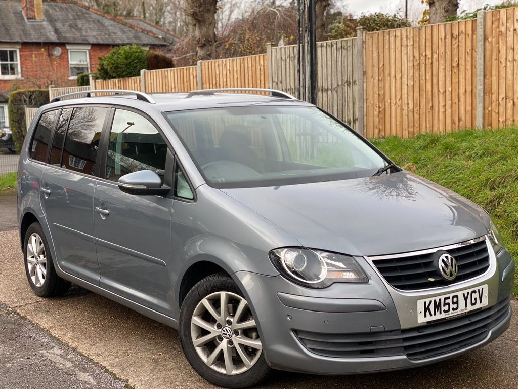 Volkswagen Touran MPV 1.9 TDI BlueMotion Tech DPF Match 5dr (7 Seats)