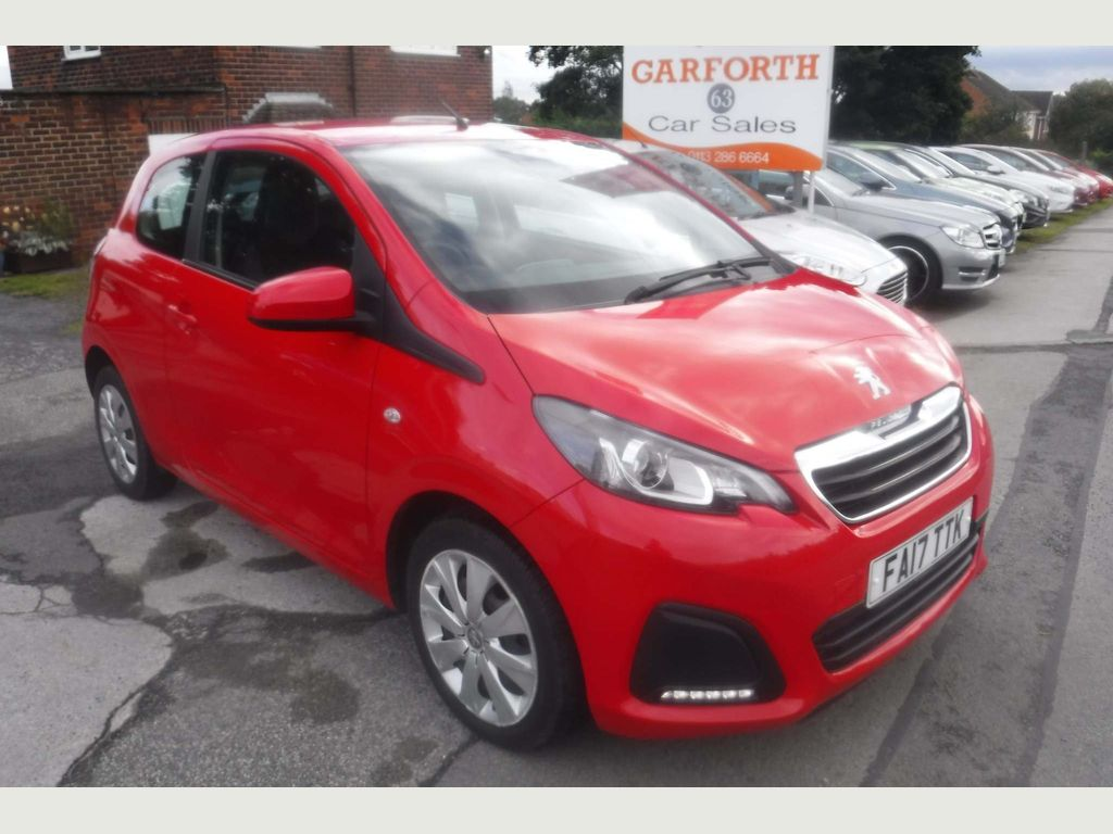 Peugeot 108 Hatchback 1.0 Active 3dr