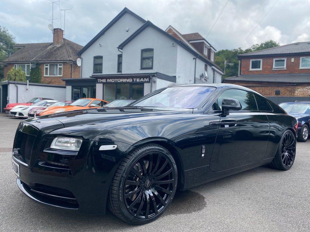 Rolls-Royce Wraith Coupe 6.6 V12 Auto 2dr EU5