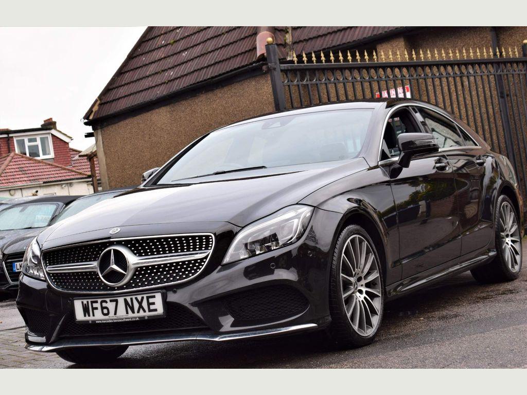 Mercedes-Benz CLS Coupe 2.1 CLS220d AMG Line G-Tronic+ (s/s) 4dr