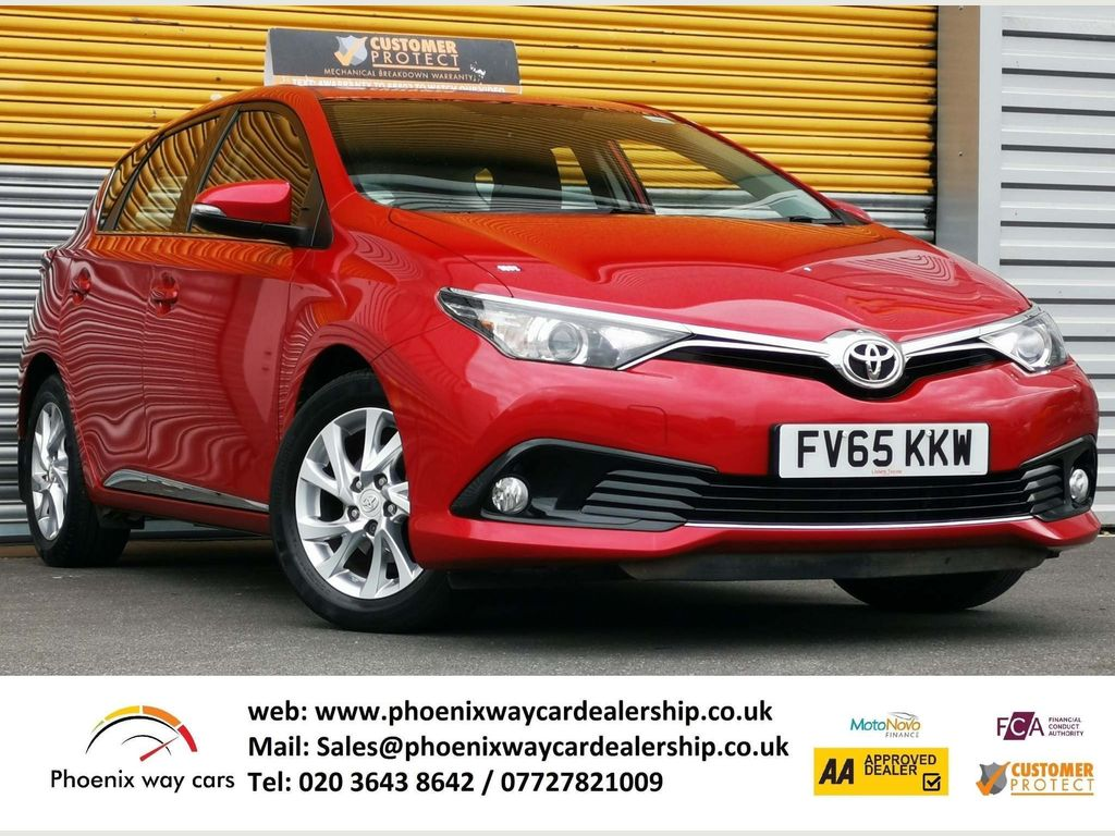 Toyota Auris Hatchback 1.2 VVT-i Business Edition CVT (s/s) 5dr