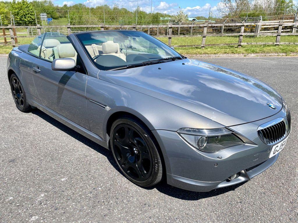 BMW 6 Series Convertible 4.4 645Ci V8 2dr