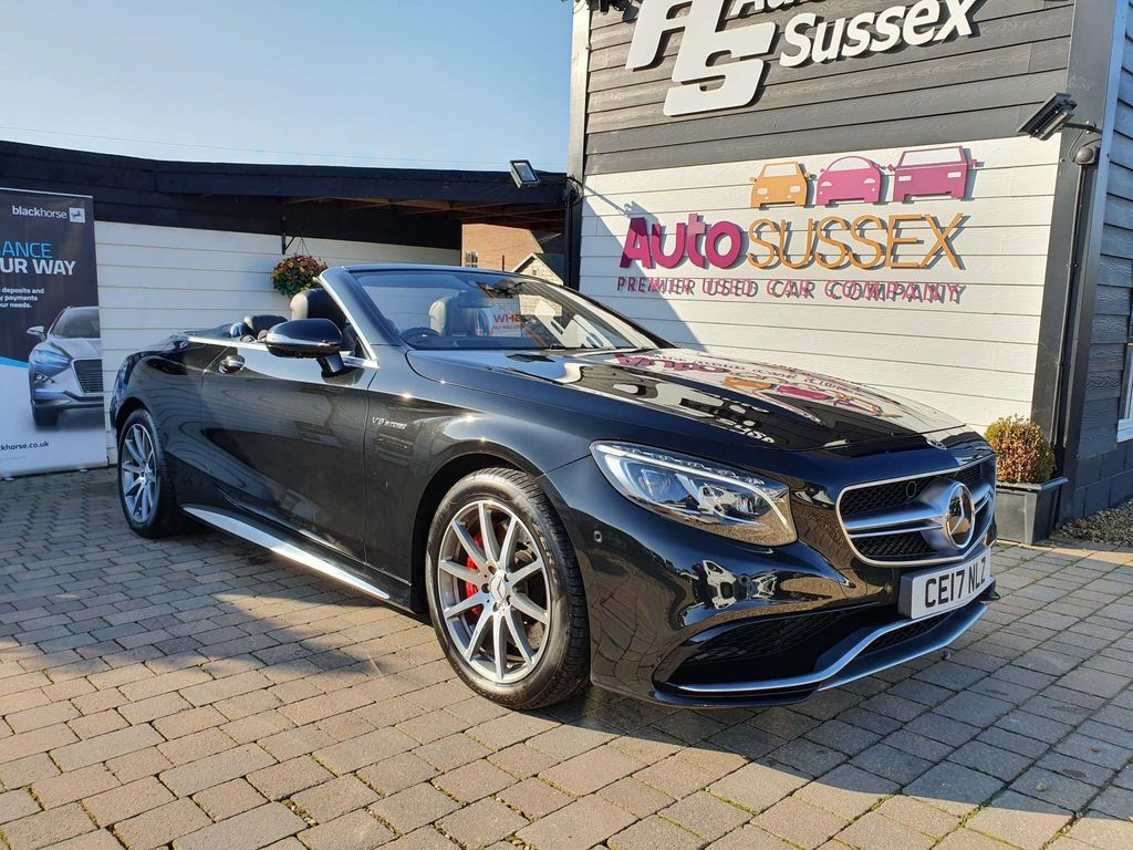 Mercedes-Benz S Class Convertible 5.5 S63 V8 AMG S Cabriolet SpdS MCT (s/s) 2dr