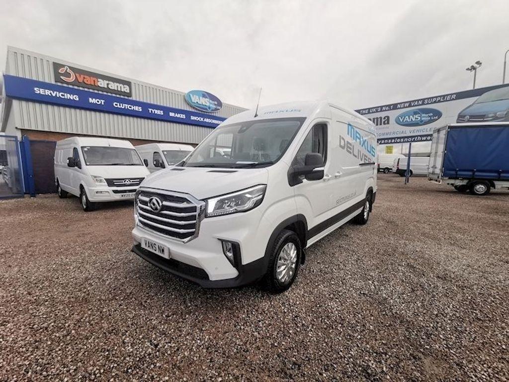 MAXUS Deliver 9 Panel Van Lux Lh P/V L3h2 RWD