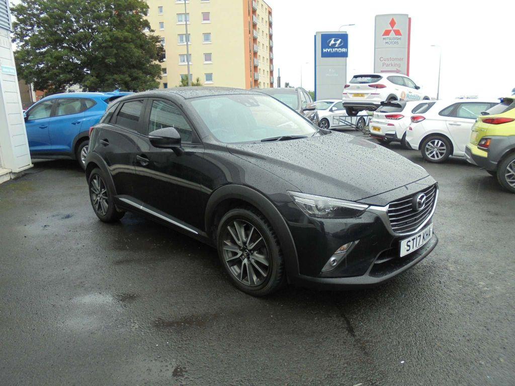 Mazda CX-3 SUV 2.0 SKYACTIV-G Sport Nav 4WD (s/s) 5dr