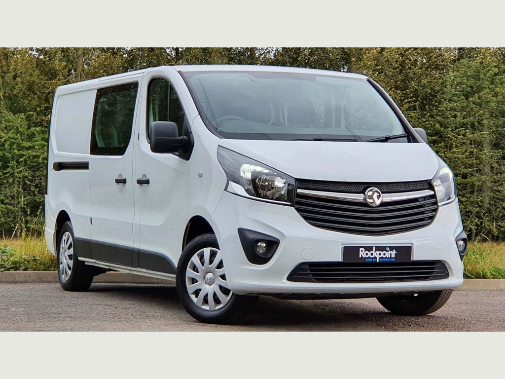 Vauxhall Vivaro Other 1.6 CDTi 2900 Sportive Crew Van L2 H1 EU6 5dr (6 Seat)