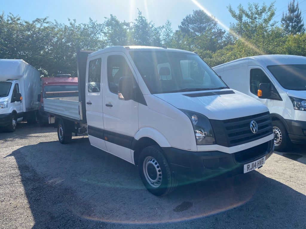 Volkswagen Crafter Dropside 2.0 TDI CR35 Double Cab Dropside Truck 4dr (LWB)