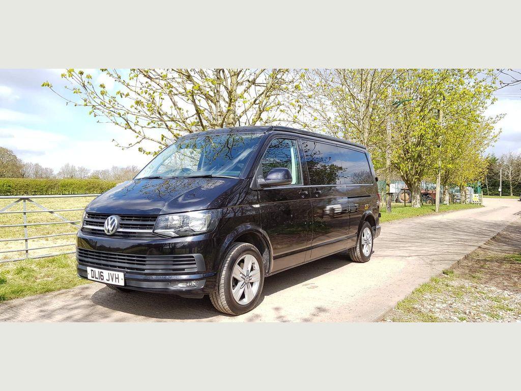Volkswagen Transporter Panel Van LWB 140 PS 6 SPEED HIGHLINE CAMPER