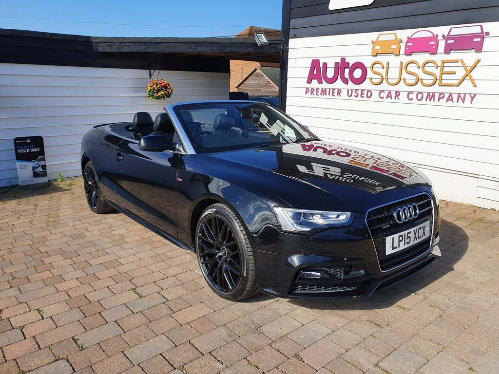 Audi A5 Cabriolet Convertible 3.0 TDI S line Special Edition Plus Cabriolet S Tronic quattro 2dr