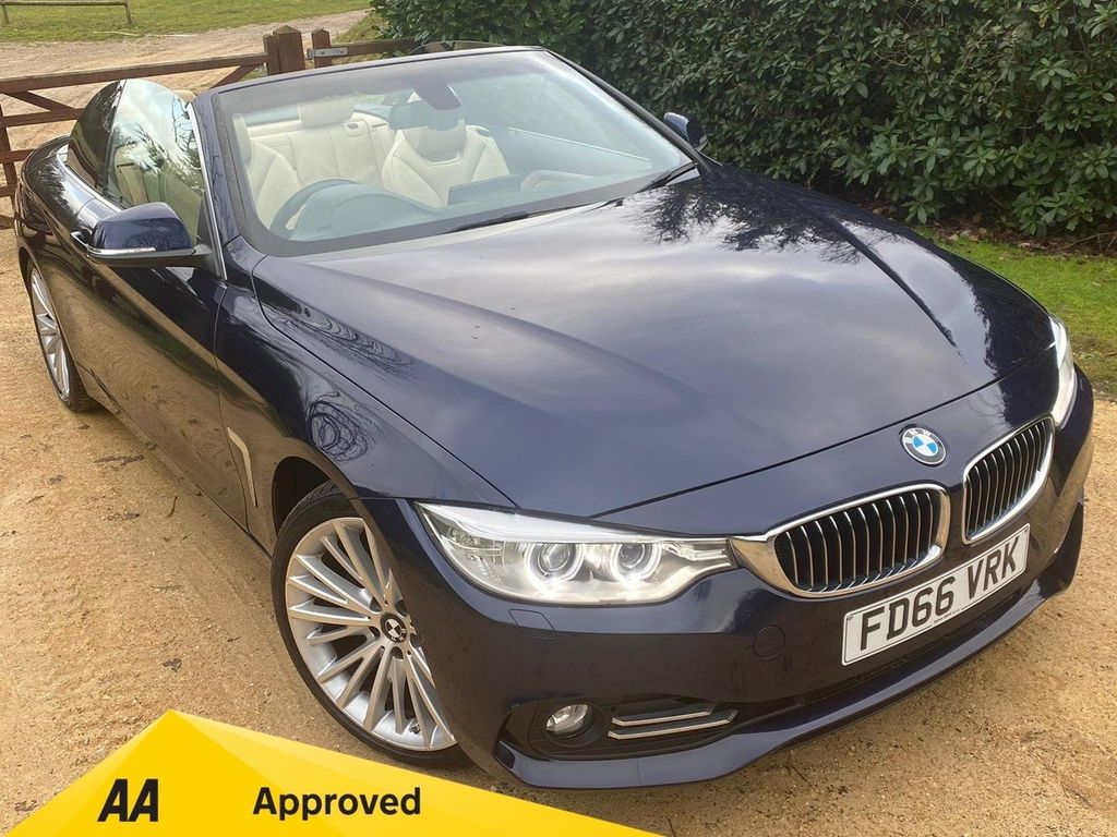 BMW 4 Series Convertible 3.0 430d Luxury Auto 2dr
