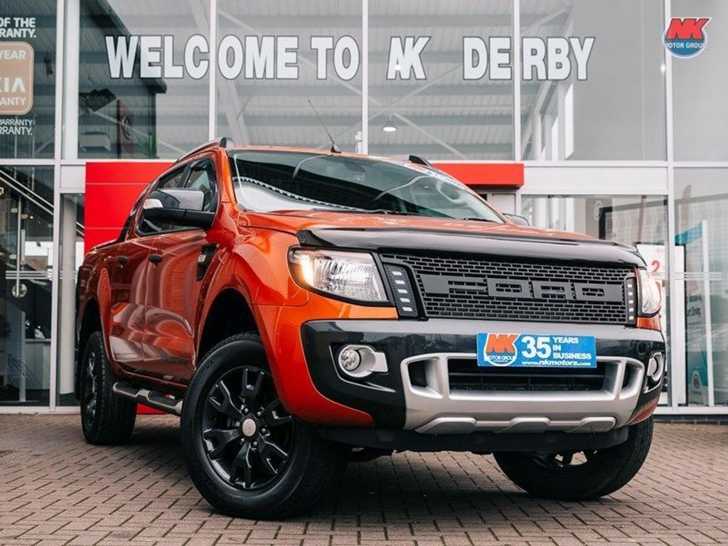 Ford Ranger Pickup WILDTRAK 4X4 DCB TDCI