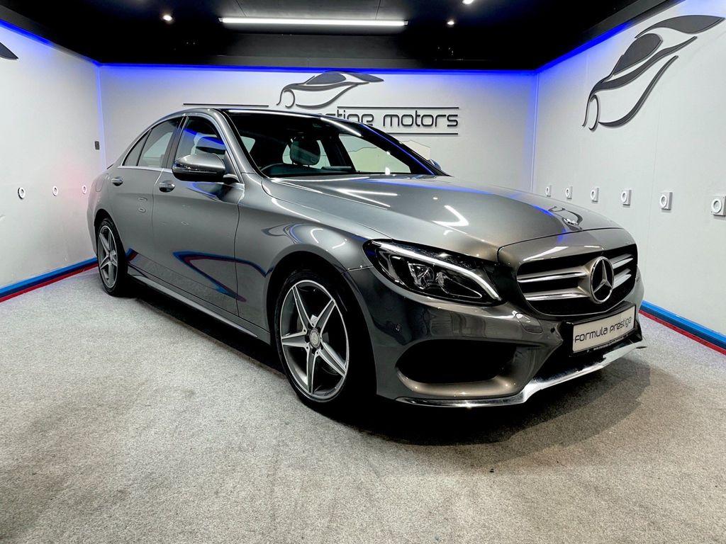 Mercedes-Benz C Class Saloon 2.1 C250d AMG Line (Premium Plus) G-Tronic+ 4MATIC (s/s) 4dr