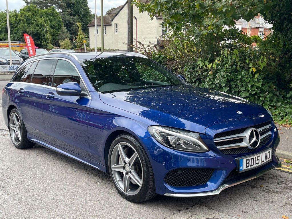 Mercedes-Benz C Class Estate 2.1 C300dh BlueTEC AMG Line G-Tronic+ (s/s) 5dr