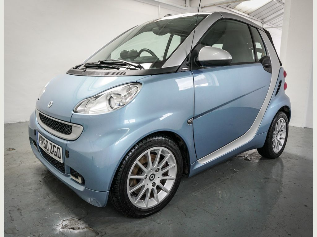 Smart fortwo Convertible 1.0 MHD Passion Cabriolet Softouch 2dr
