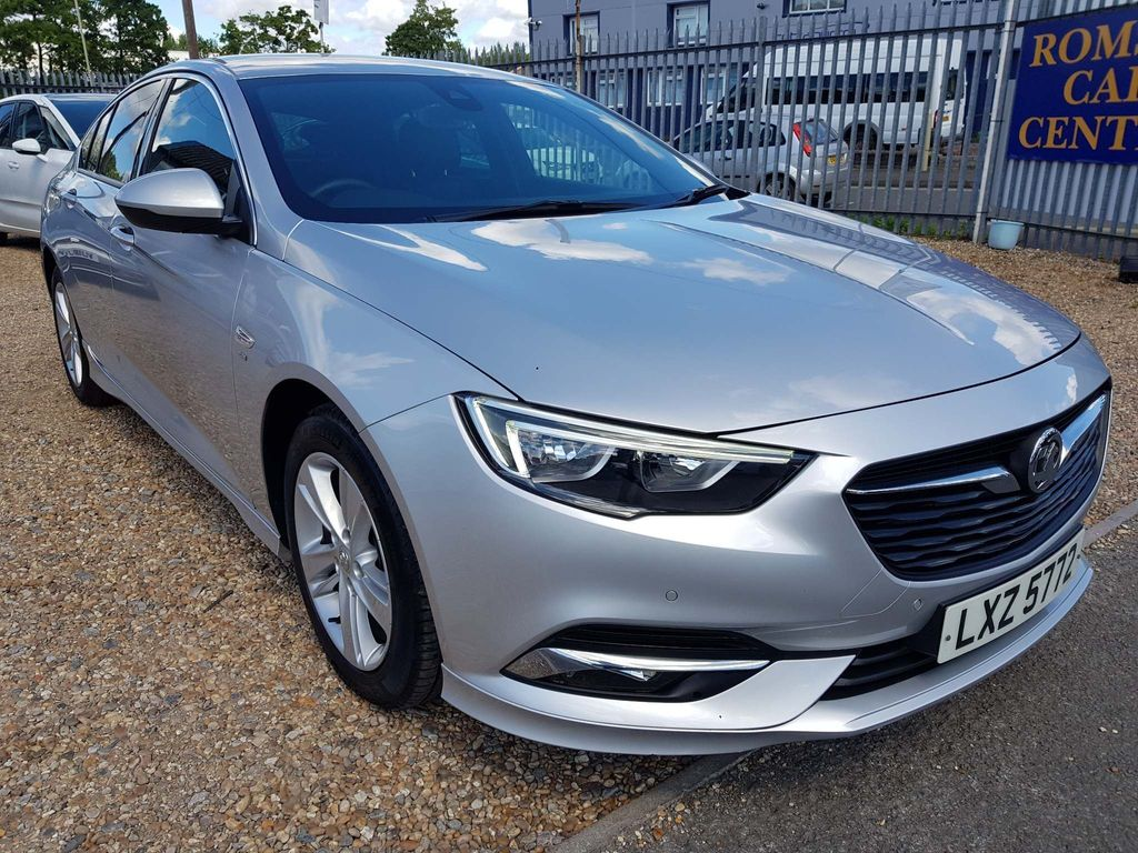 Vauxhall Insignia Hatchback 1.6 Turbo D ecoTEC BlueInjection SRi VX Line Nav Grand Sport (s/s) 5dr