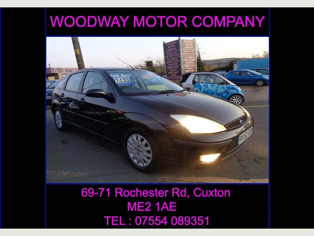 Ford Focus Hatchback 1.6 i 16v Ghia 5dr
