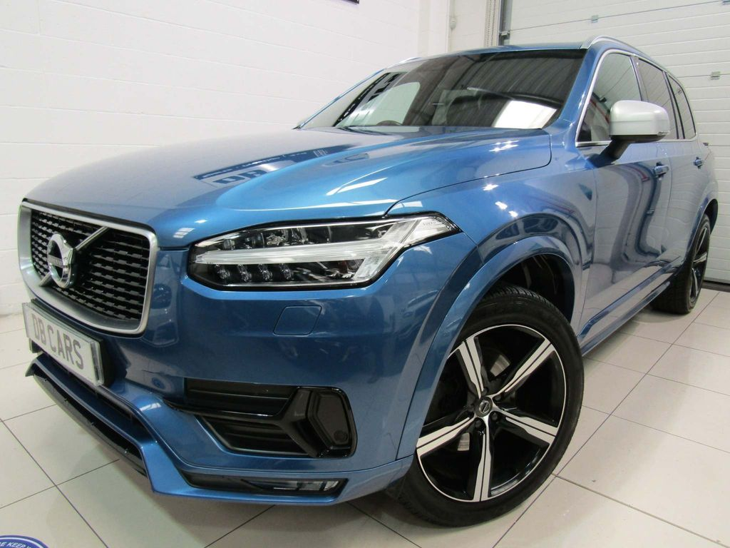Volvo XC90 SUV 2.0 D5 PowerPulse R-Design Auto 4WD (s/s) 5dr