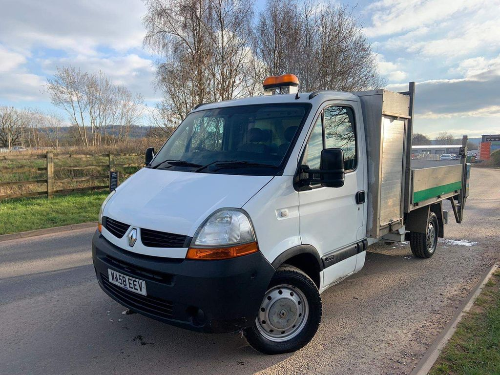 Renault Master Tipper 2.5 dCi CCML35 Chassis Cab 2dr