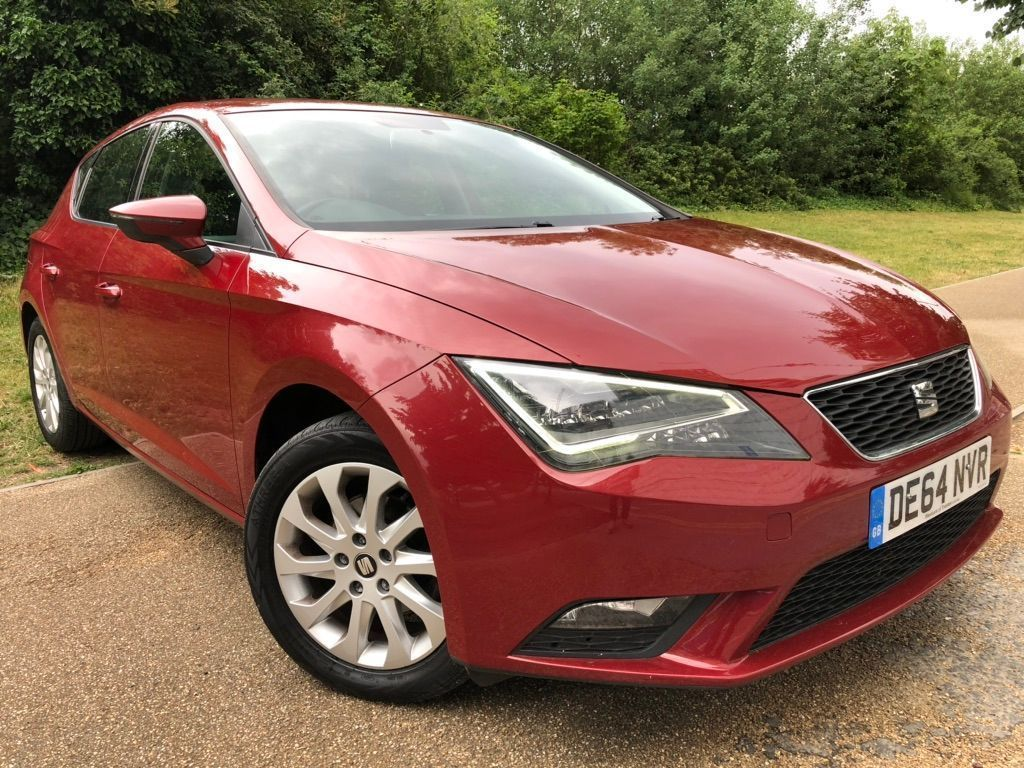 SEAT Leon Hatchback 1.6 TDI CR CR SE (Tech Pack) (s/s) 5dr