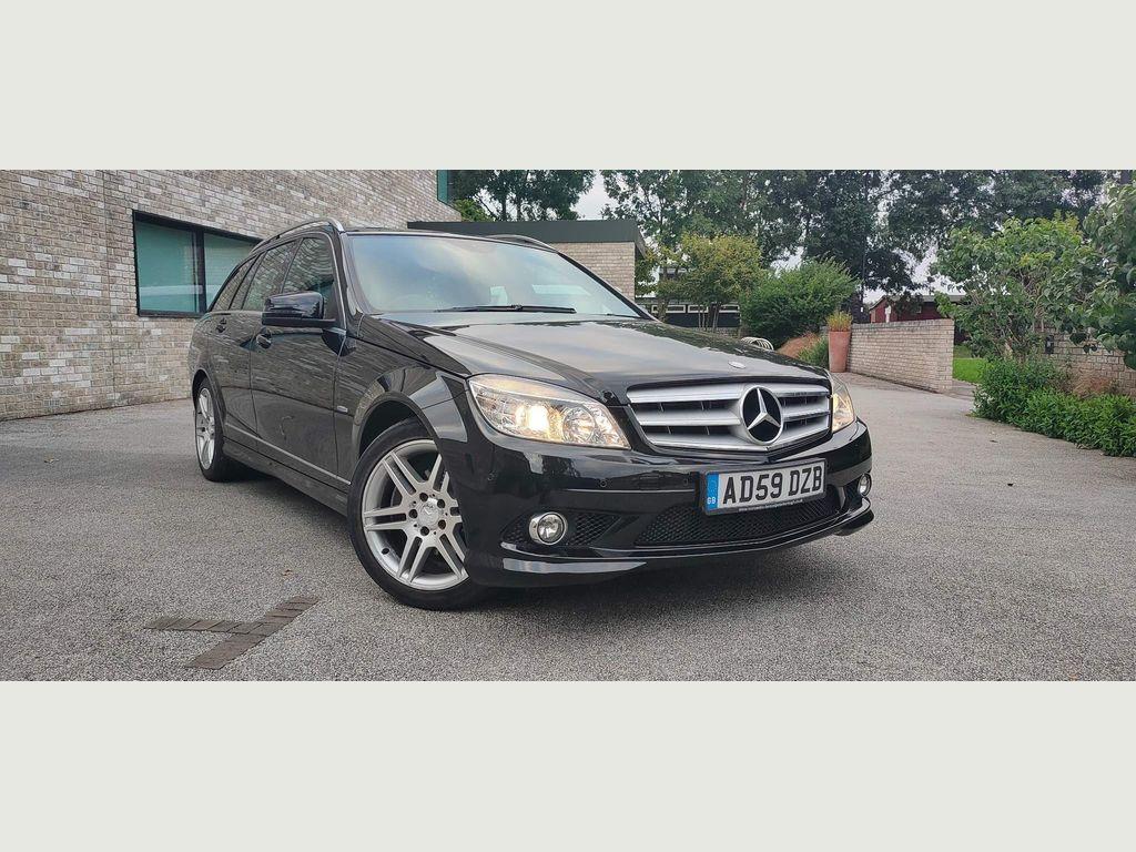 Mercedes-Benz C Class Estate 1.6 C180 BlueEFFICIENCY Kompressor Sport 5dr