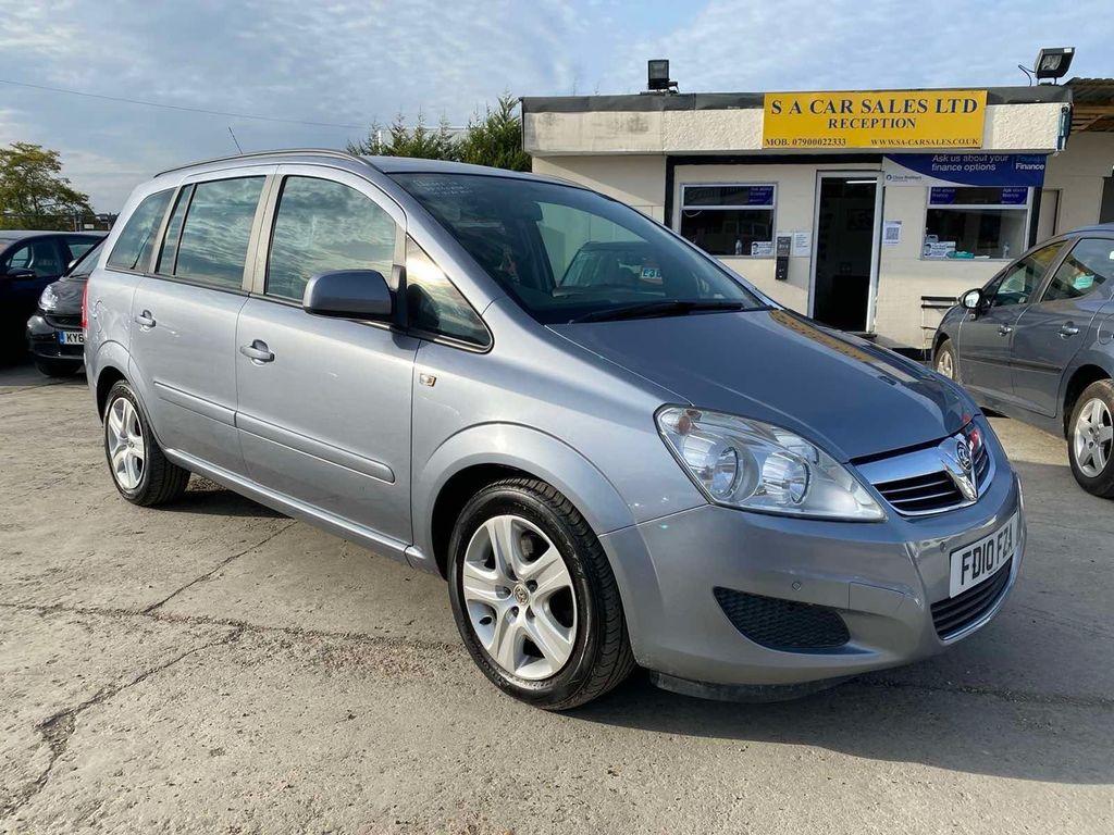 Vauxhall Zafira MPV 1.7 CDTi ecoFLEX 16v Exclusiv 5dr