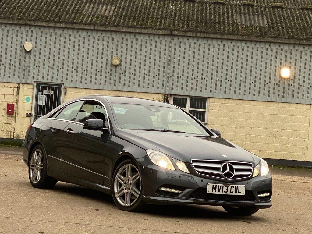 Mercedes-Benz E Class Coupe 2.1 E220 CDI BlueEFFICIENCY Sport G-Tronic 2dr