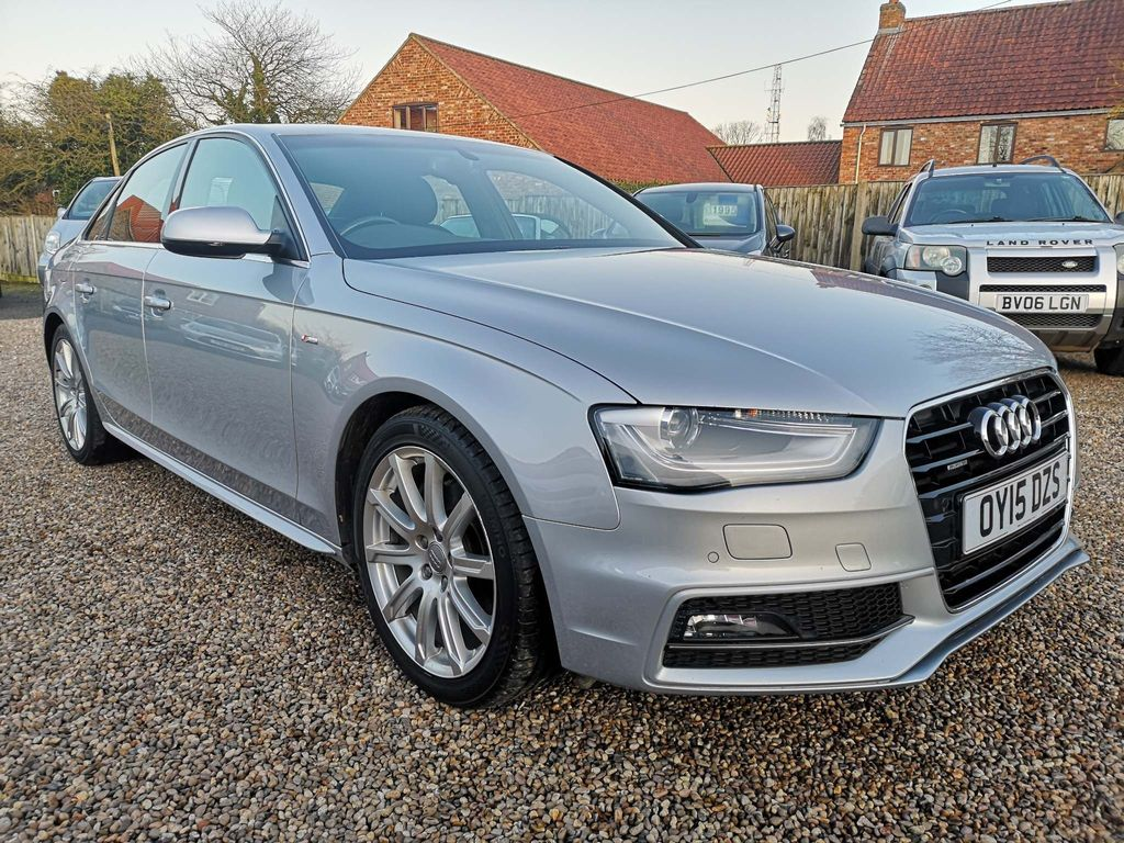 Audi A4 Saloon 3.0 TDI S line S Tronic quattro 4dr