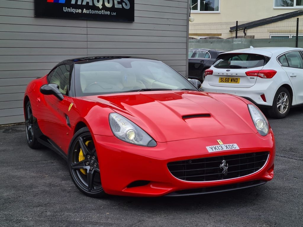 Ferrari California Convertible 4.3 V8 30 F1 DCT 2dr